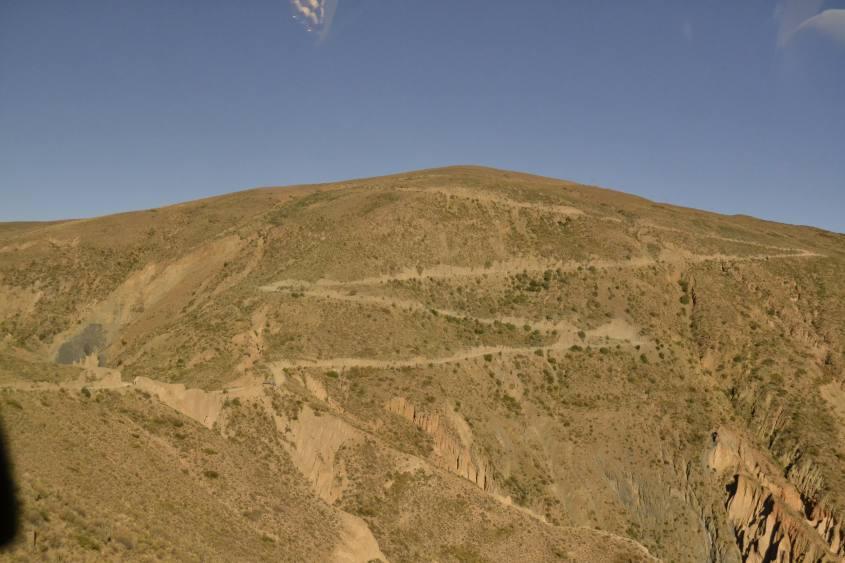 Prima salita da Tupiza verso il Salar di Uyuni in Bolivia
