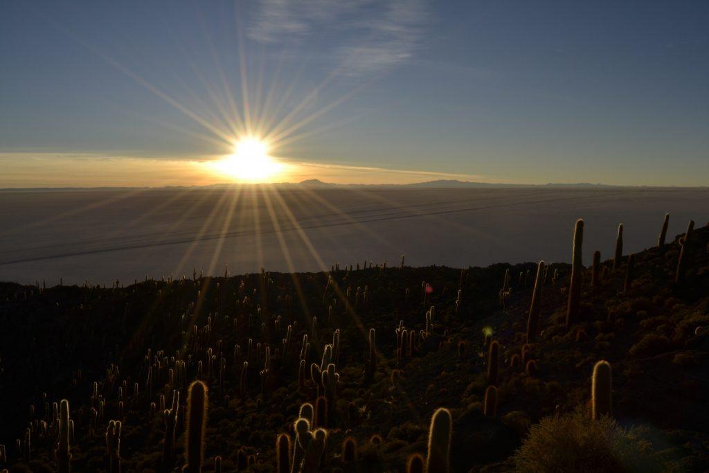Alba al deserto di Uyuni