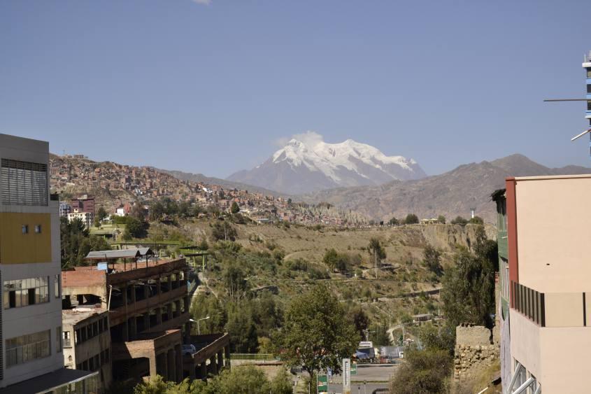 Punto panoramico di La Paz in Bolivia