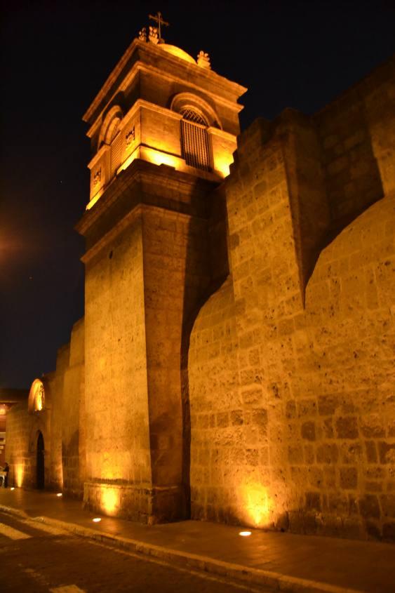 Esterno del Monastero di Santa Catalina di Arequipa