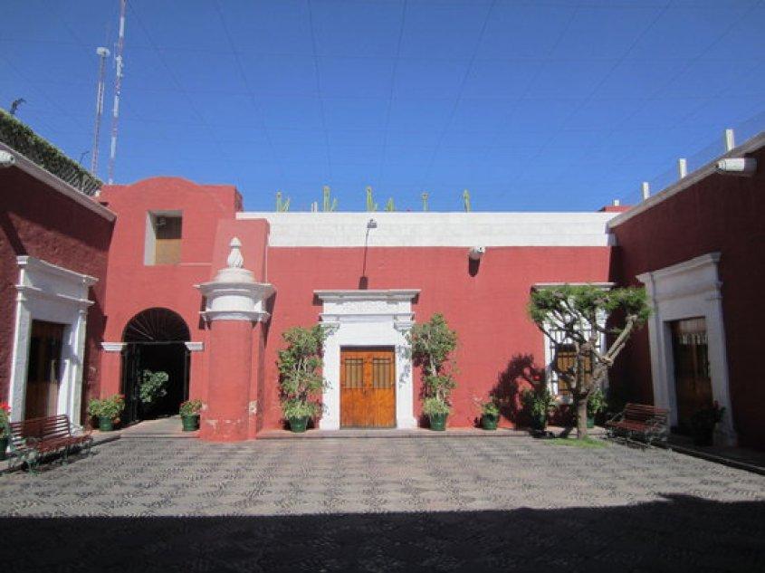 Corte interna del Museo Andino di Arequipa