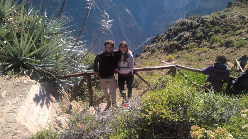 Punto panoramico della Croce del Condor nel Canyon del Colca