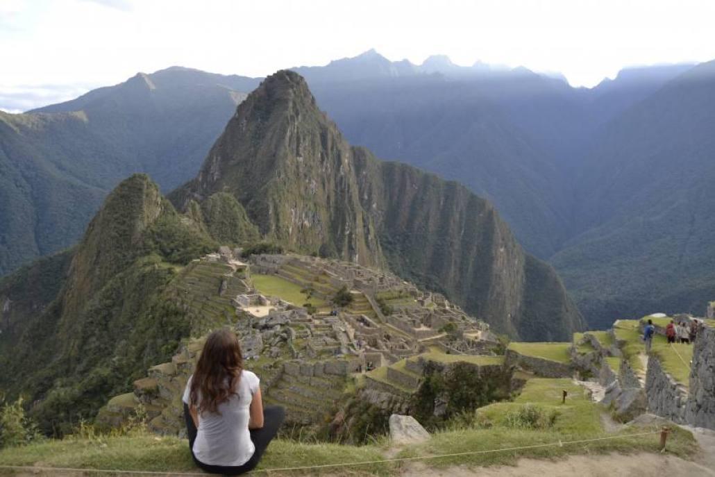Fiammetta e Machu Picchu