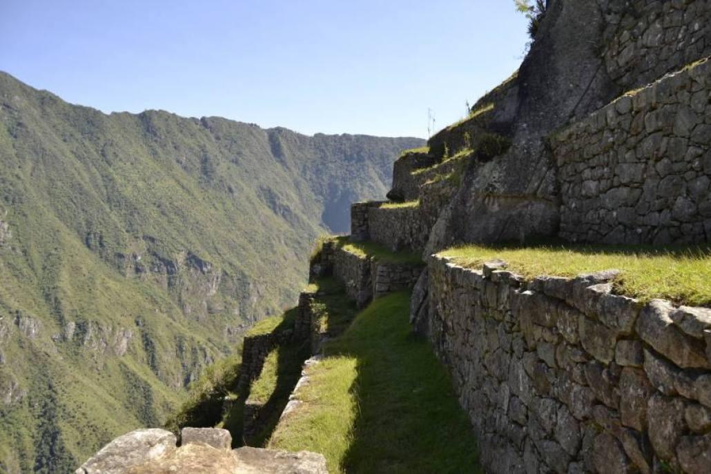 I terrazzamenti di Machu Picchu