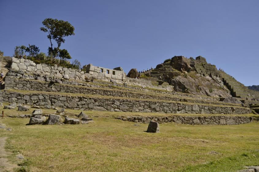 Rovine di Machu Picchu in Perù