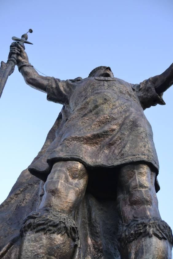 Pachacutec, la statua Inca di Cusco