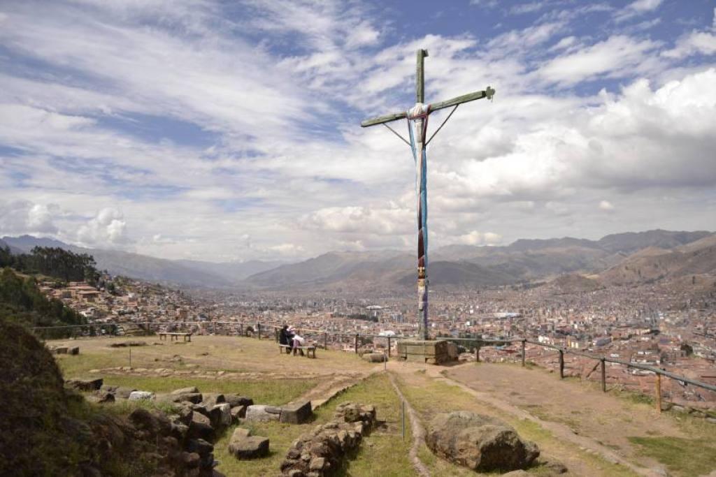 Punto d'osservazione Sacsayhuaman Cusco