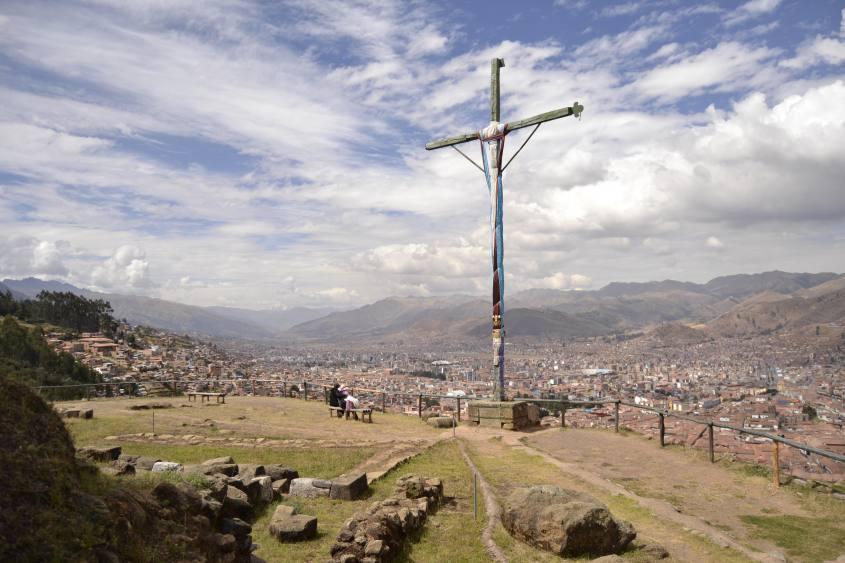 Vista su Cusco da Sacsayhuaman