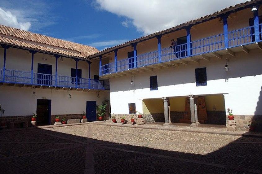 La corte interna del Museo Historico Regional di Cusco