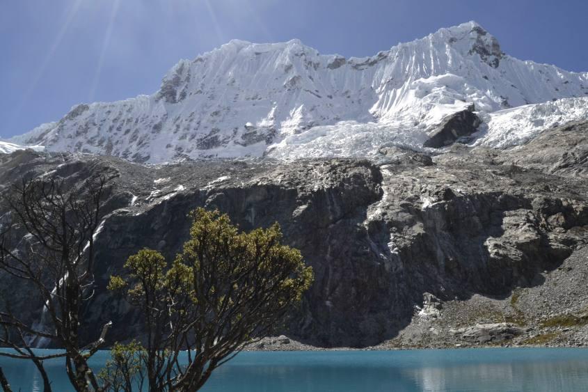 La Laguna 69 nella Cordillera Blanca in Perù