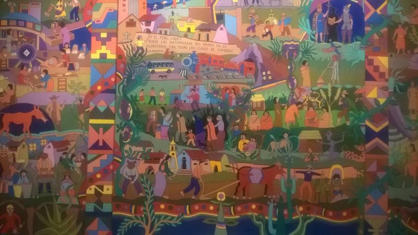 Un quadro con la storia di Lima
