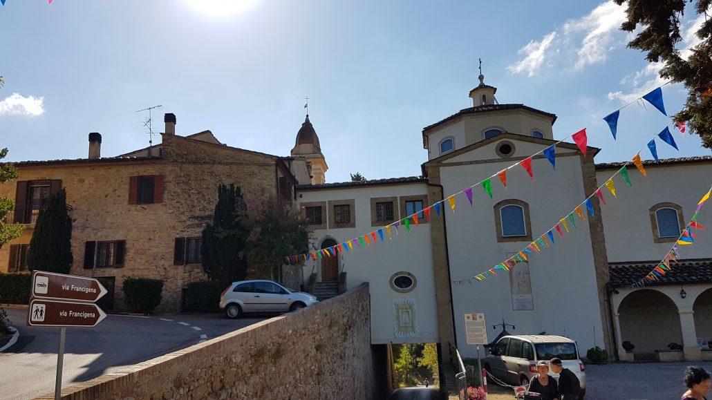 La Via Francigena tra GAMBASSI TERME - SAN GIMIGNANO - QUARTAIA