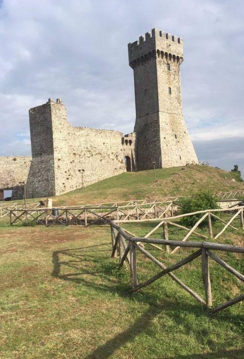 Rocca Radicofani Via Francigena