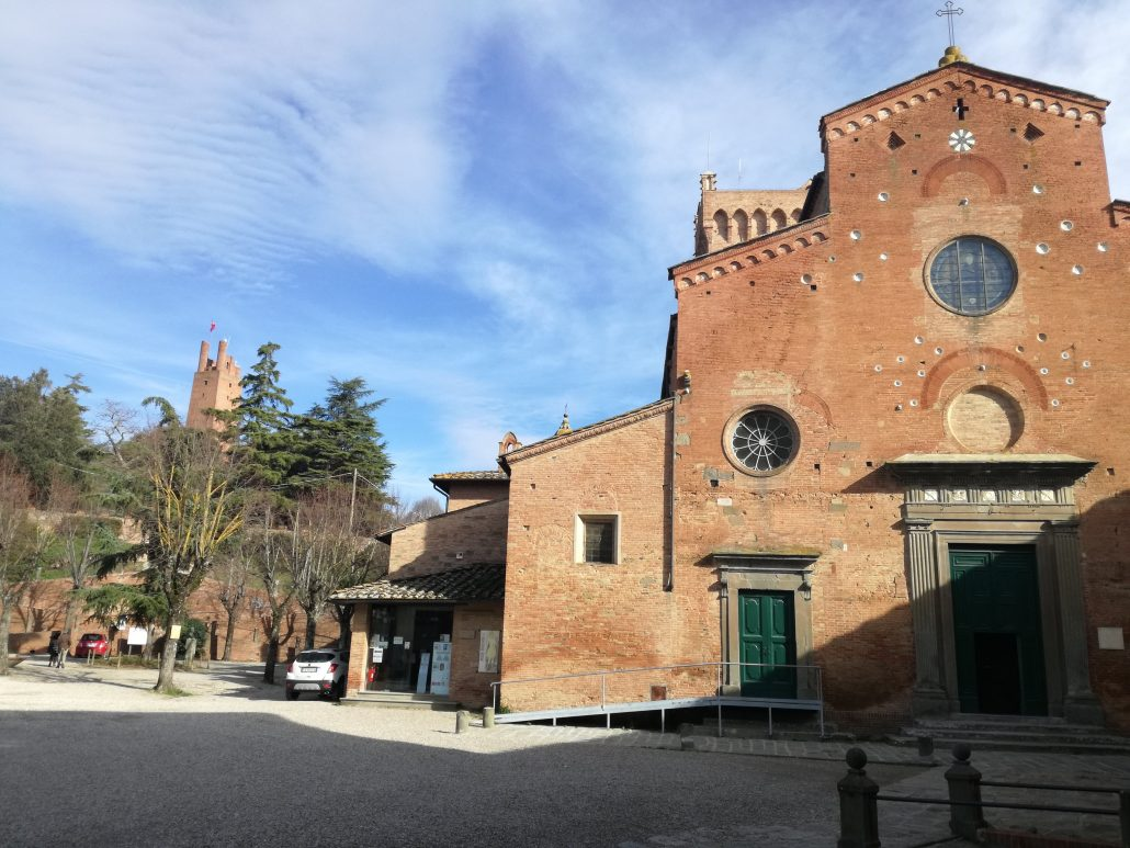 Piazza del Duomo e Rocca San Miniato Alto