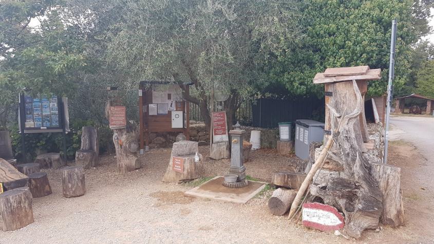 Punto Sosta La Villa Via Francigena