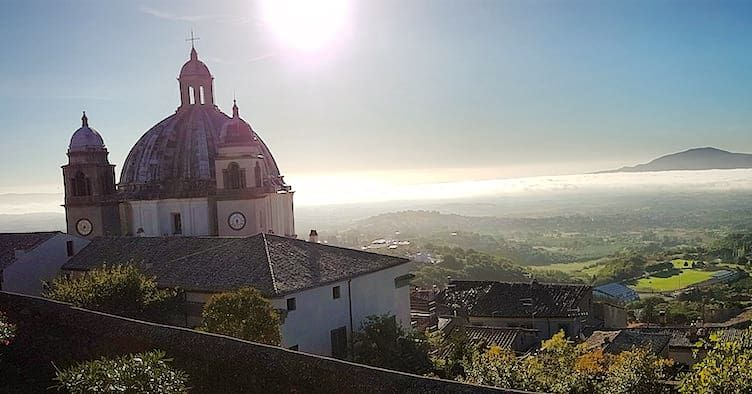 BOLSENA - MONTEFIASCONE, la Francigena dal Lago alla Rocca dei Papi