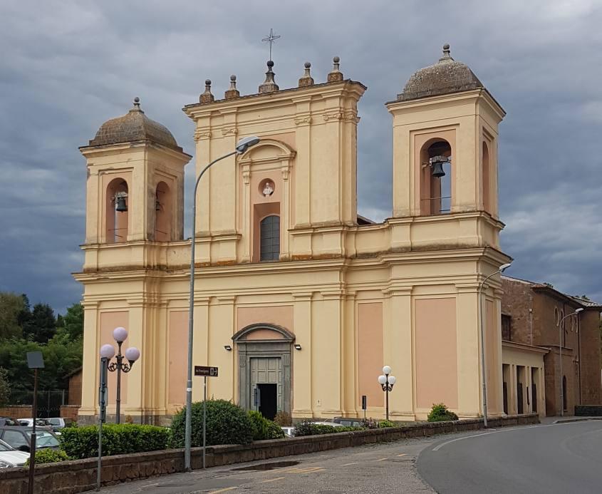 Acquapendente Cattedrale del Santo Sepolcro