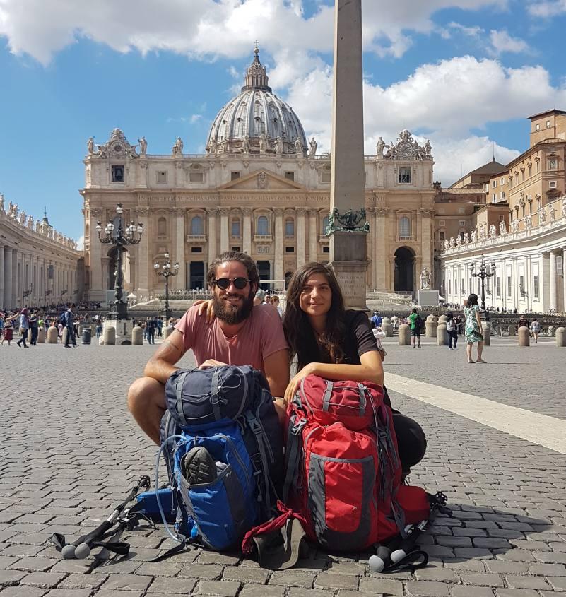 La Via Francigena volge al termine: LA GIUSTINIANA - ROMA