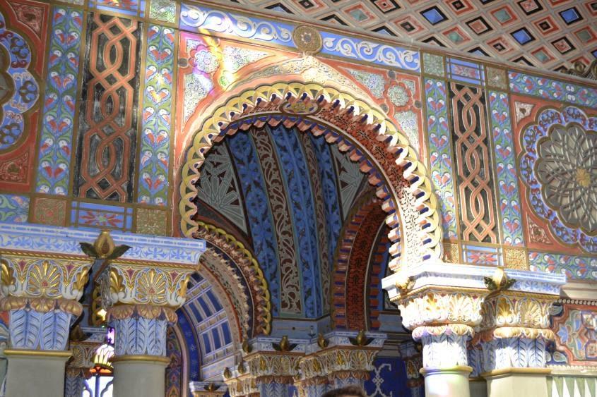 Porta Castello di Sammezzano Sala Non Plus Ultra