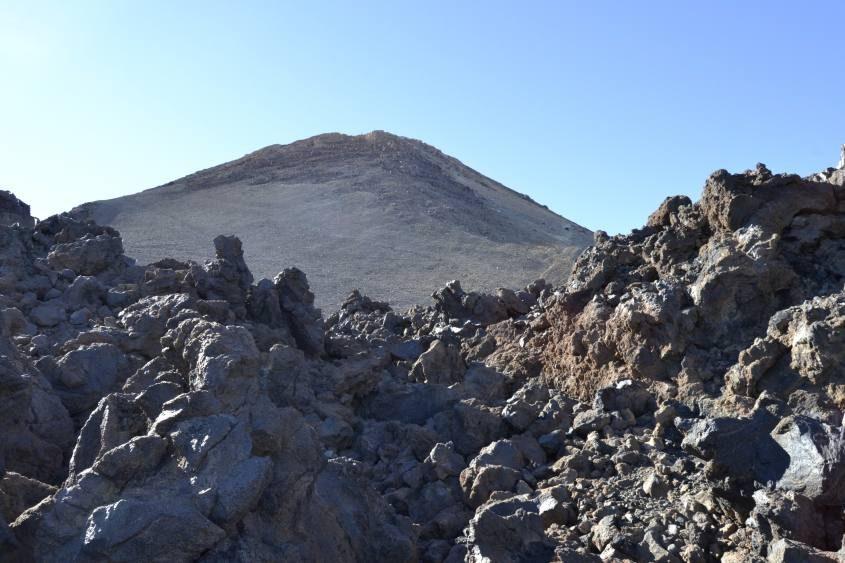 Cratere del vulcano Teide di Tenerife