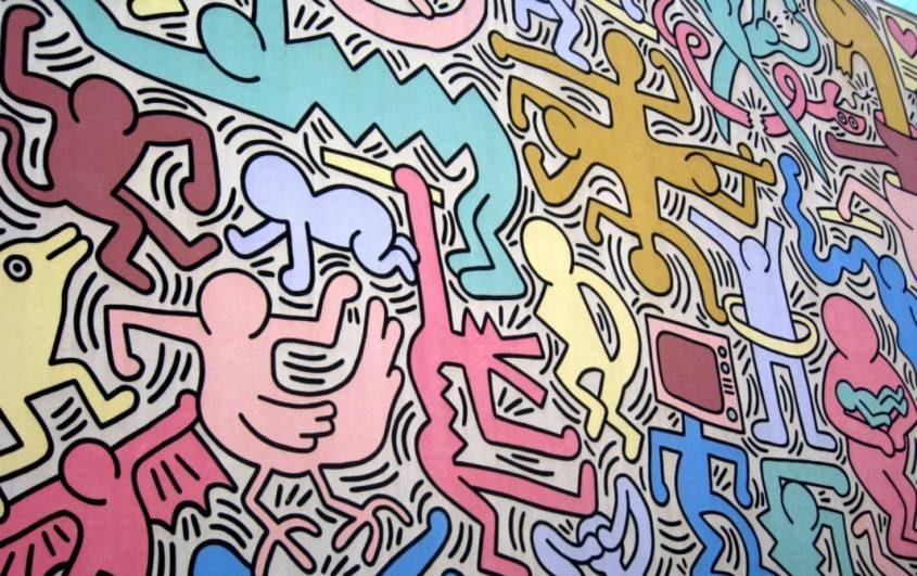 Murales Tuttomondo Pisa
