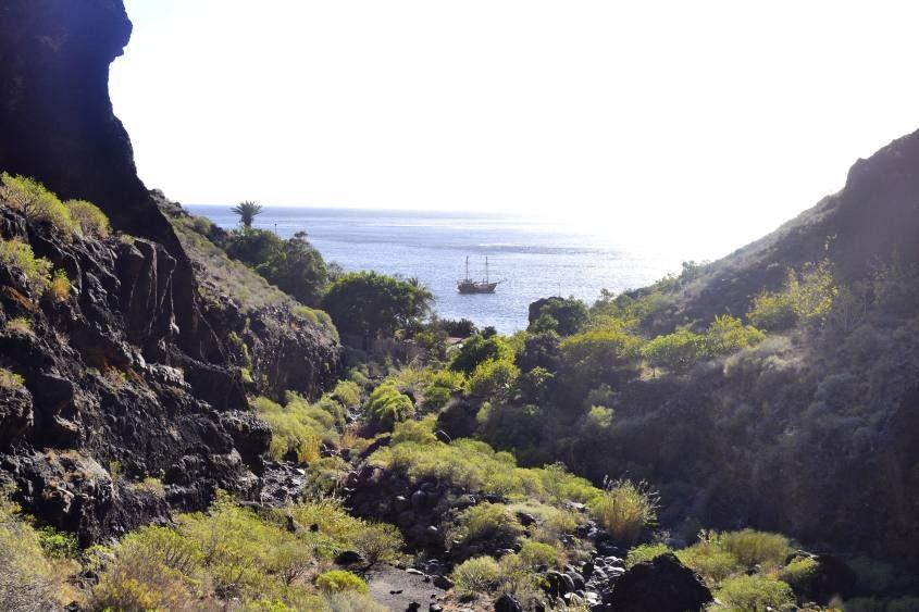 Finale con vista oceano del Trekking di Masca a Tenerife