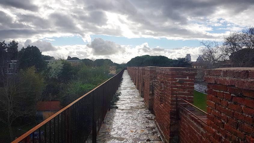 Camminamento in quota de Le Mura di Pisa