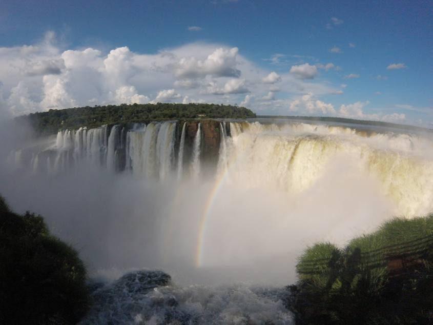 Garganta del Diablo delle Cascate di Iguazù dal lato argentino