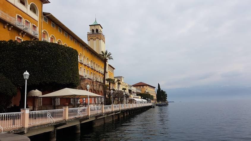 Passeggiata lungolago di Salò sul Lago di Garda