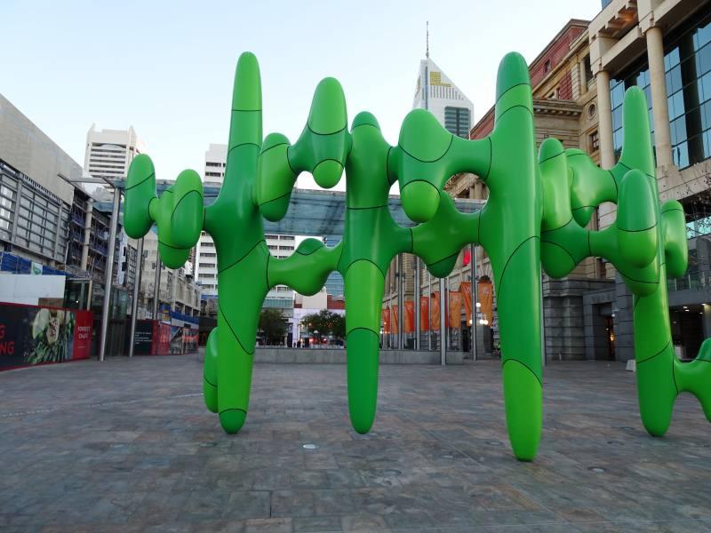 Cactus nel centro CBD di Perth in Australia