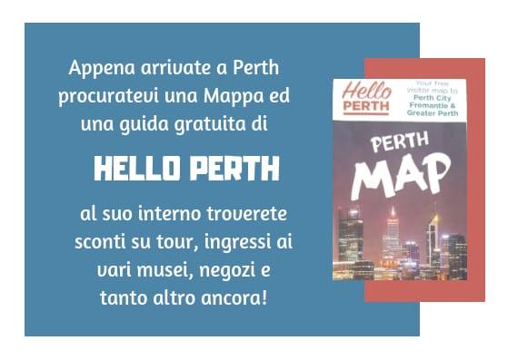 Guida e sconti con Hello Perth