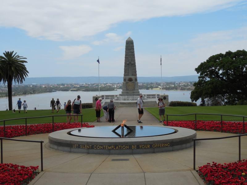Memoriale di guerra al Kings Park di Perth