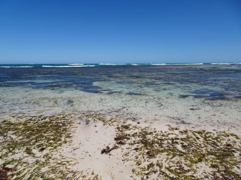 Colore dell'acqua di Hangover Bay