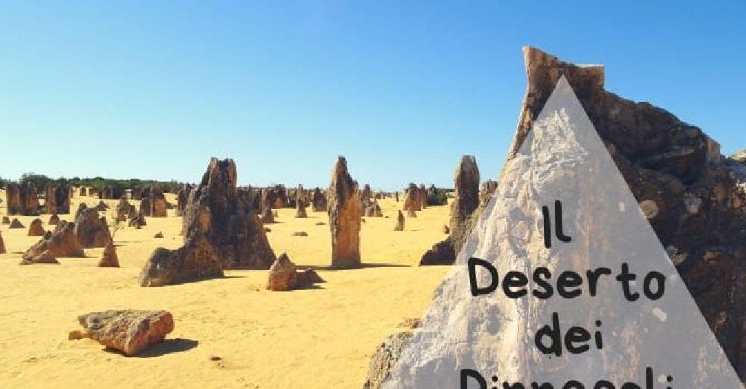 Copertina articolo il Deserto dei Pinnacoli, le strane rocce del Western Australia