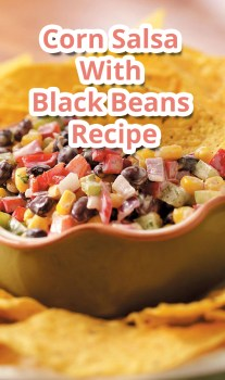 Corn Salsa With Black Beans -Recipe