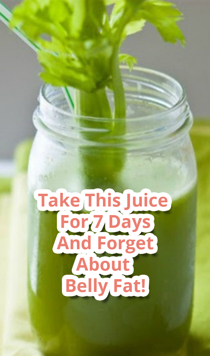 Take This Juice For 7 Days And Forget About Belly Fat!