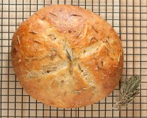 Rosemary And Garlic Coconut Flour Bread - Recipe