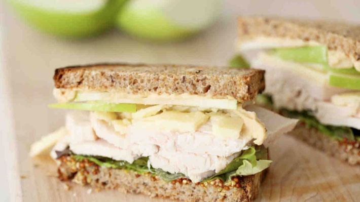 Apple, Cheddar And Chicken Melts – Recipe