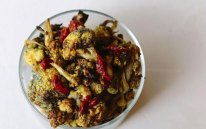 Turmeric Roasted Cauliflower With Activated Charcoal And Goji Berries - Recipe