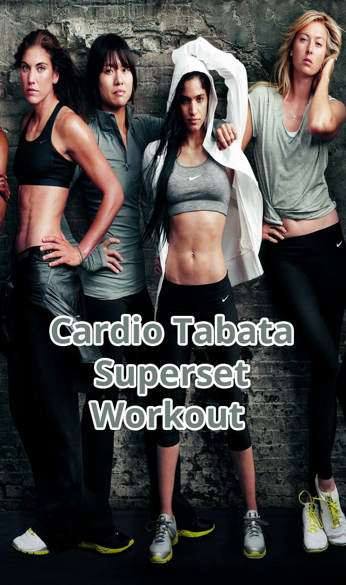 Cardio Tabata Superset Workout