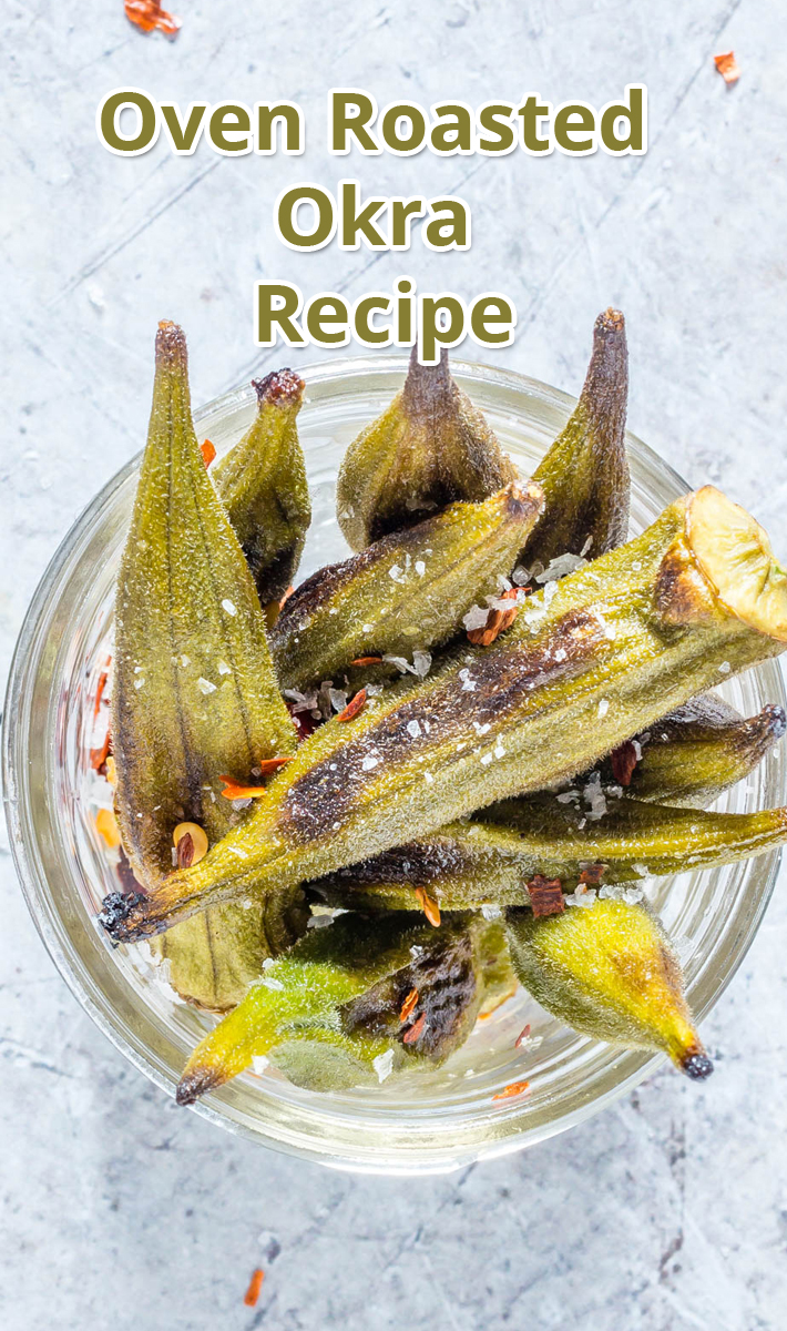 Oven Roasted Okra - Recipe
