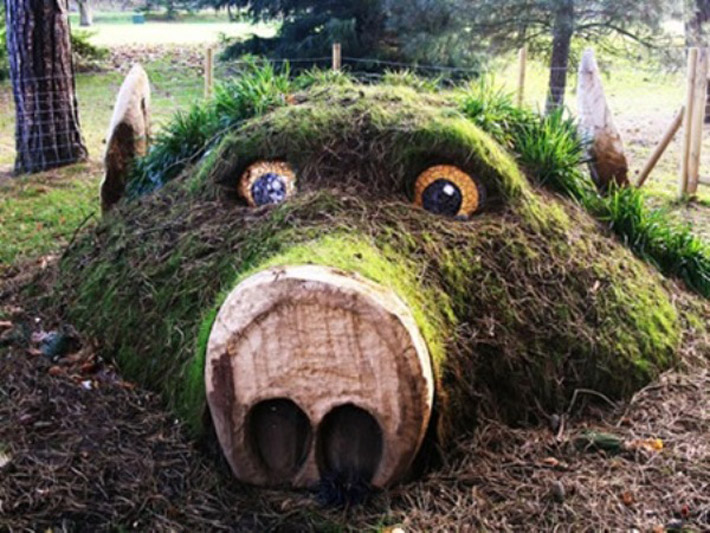 Amazing Grass Sculptures