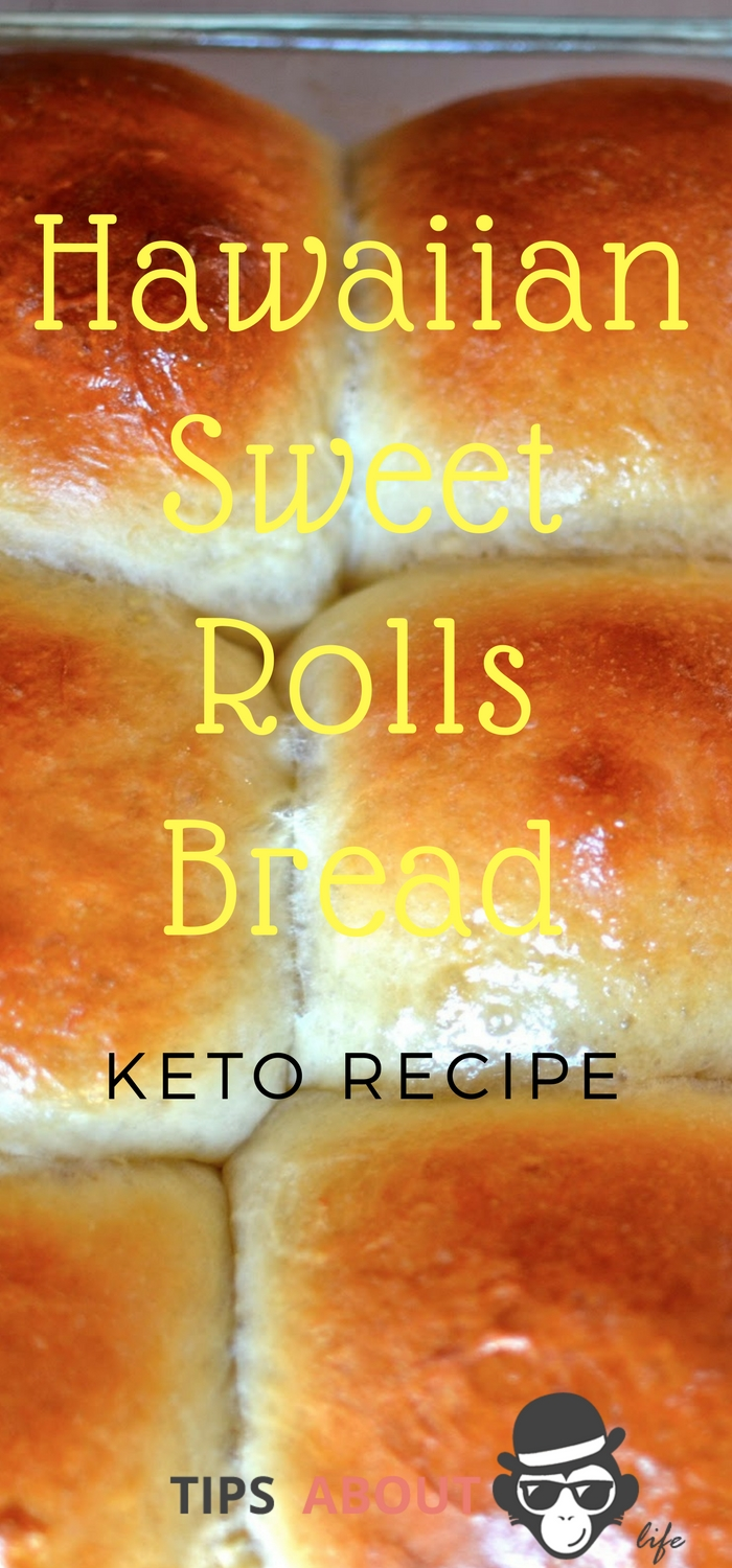 Hawaiian Sweet Rolls Bread - Keto Recipe