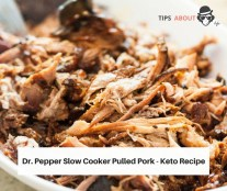 Dr. Pepper Slow Cooker Pulled Pork - Keto Recipe