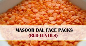 masoor dal face packs homemade for hair removal and skin glow