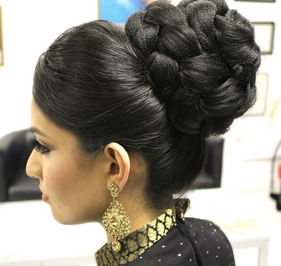 10 indian bridal hairstyles for weddings cocktail and reception