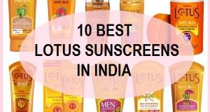 Lotus Herbals sunscreen