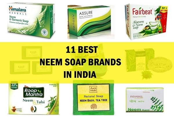 neem soap brands in india
