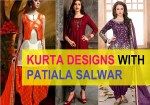 10 Latest Kurta Designs with Patiala Salwar