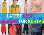 12 Latest Kurti Neck Designs Ideas and Patterns